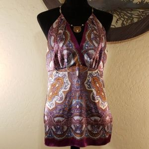 Nicole by Nicole Miller Scarf Top